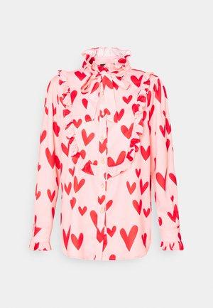 FERRIS WHEEL BOW BLOUSE - Skjorte - pink