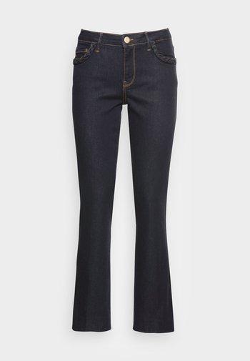 ASHLEY BRAID HYBRID - Flared Jeans - dark blue