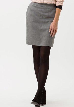 STYLE KENNEDY - Pencil skirt - winter grey