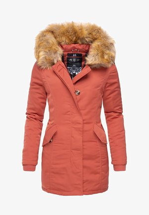 KARMAA - Winter coat - orange