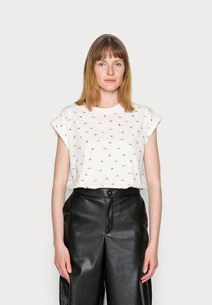 COO  - T-shirt print - off white