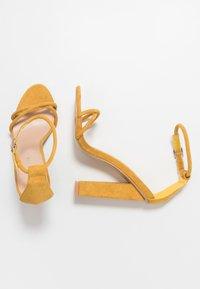 Glamorous - Sandały na obcasie - mustard - 3