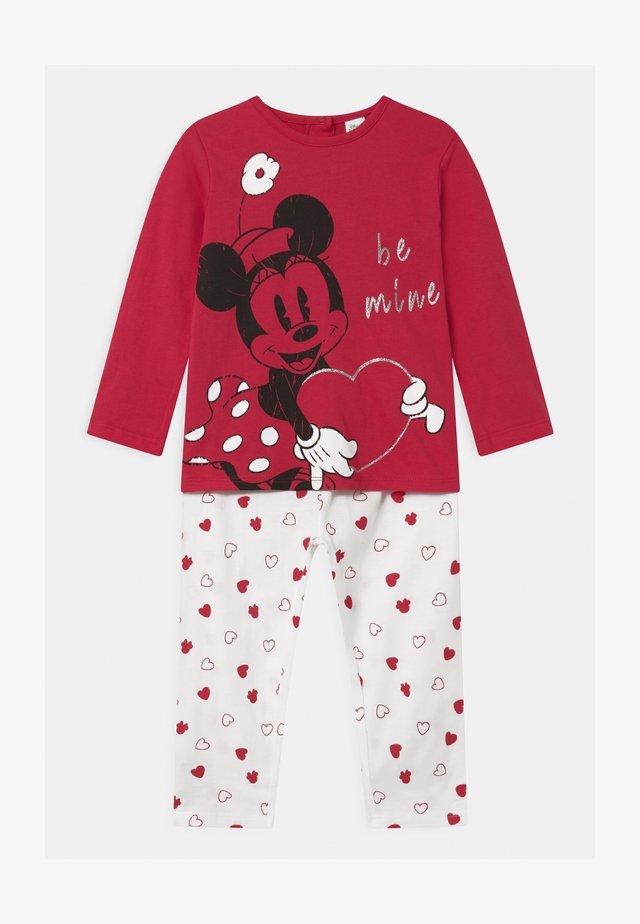 MINNIE - Pyjama set - rouge red