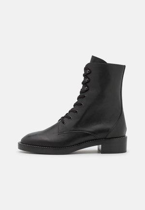 SONDRA SHINE BOOTIE - Lace-up ankle boots - black