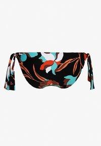 Seafolly - FLOWERMARKETHIPSTER TIE SIDE - Bikini bottoms - black - 1