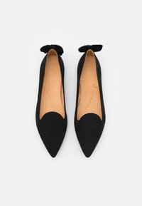 Chatelles - POINTY CLASSIC BOW - Ballet pumps - black - 4