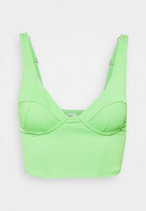 UNDERWIRE - Bikinitop - green
