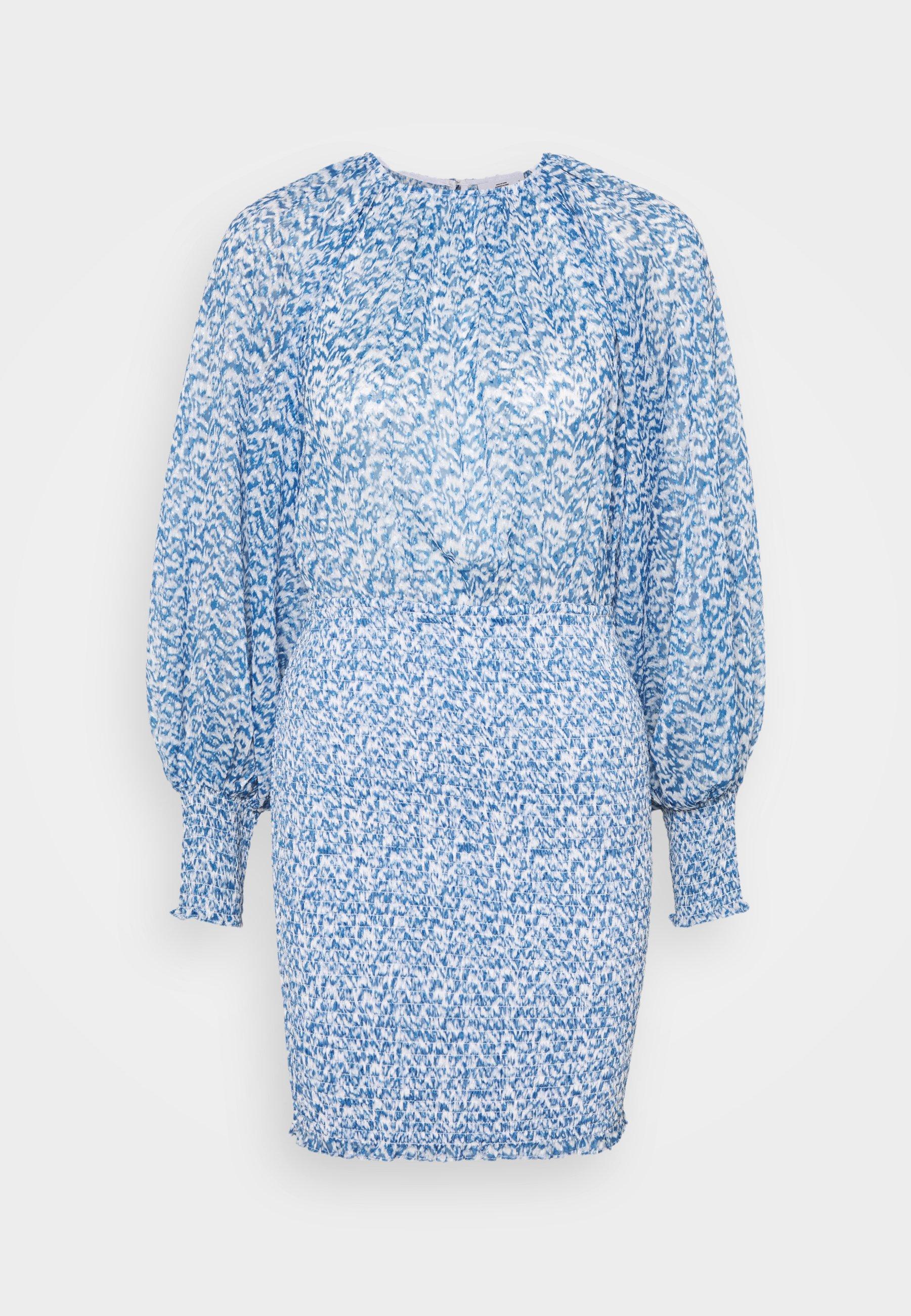 Women PARITY DRESS - Day dress - ivory blue