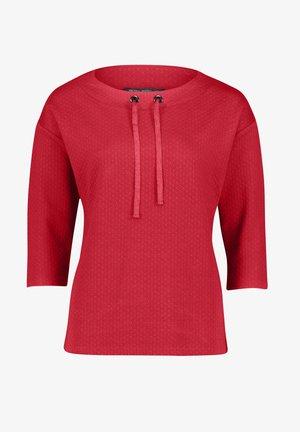 Sweatshirt - fire red