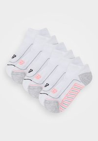 Skechers - BASIC CUSHIONED SNEAKER 2 PACK - Trainer socks - white - 0