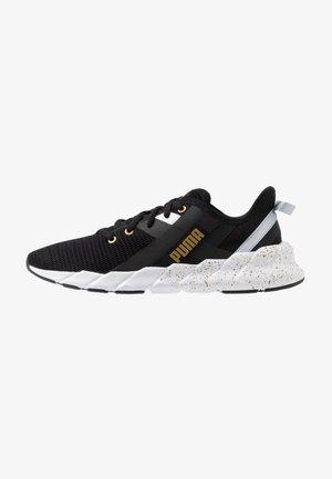 WEAVE XT METAL - Sports shoes - black/metallic gold
