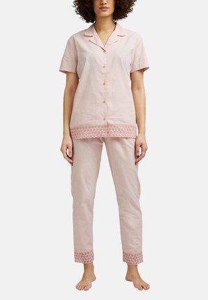 Pyjama set - coral