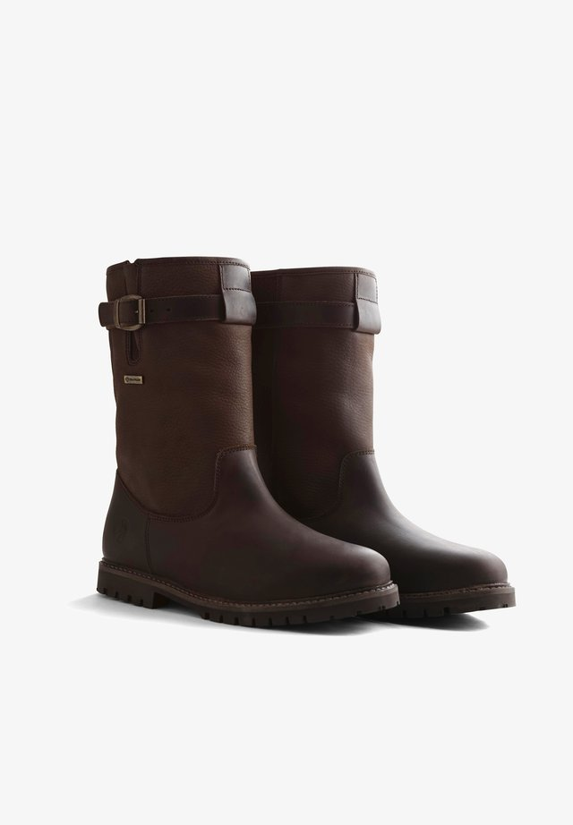 NORTH CAPE - Snowboots  - dark brown