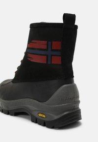 Napapijri - PEAK - Lace-up ankle boots - black - 6
