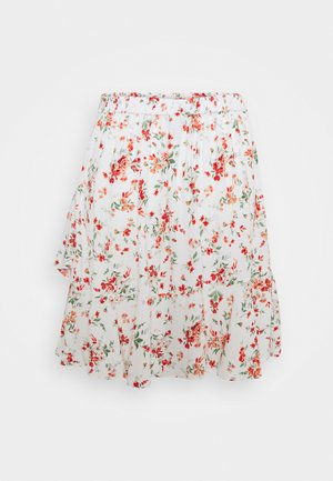 GISELLE RUFFLE SKIRT - Mini skirt - savannah