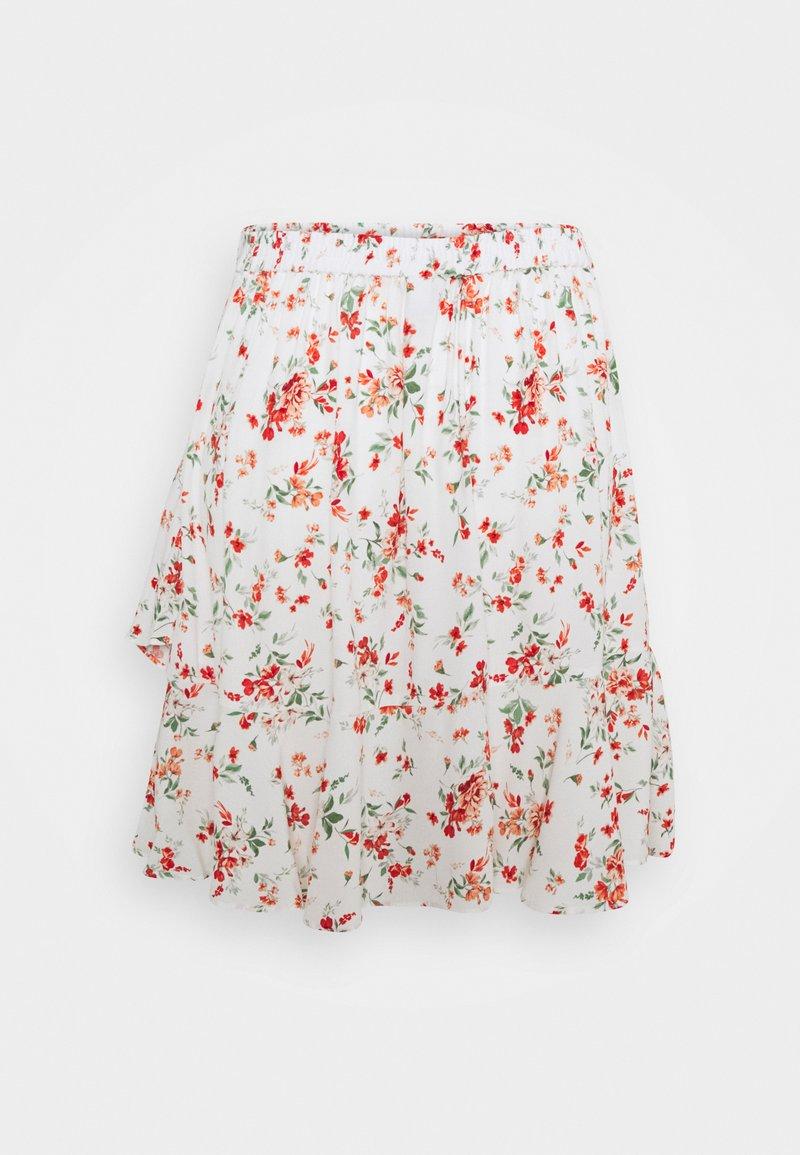 Forever New - GISELLE RUFFLE SKIRT - Mini skirt - savannah