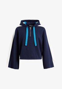 khujo - ZENGINA - Bluza z kapturem - blue/white - 7