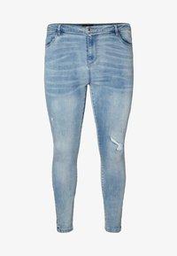 Vero Moda Curve - Jeans Skinny Fit - medium blue - 4