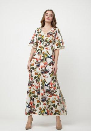 ROSA - Maxi dress - weiß grün