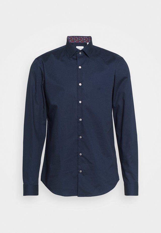 POPLIN CONTRAST SLIM - Formal shirt - navy