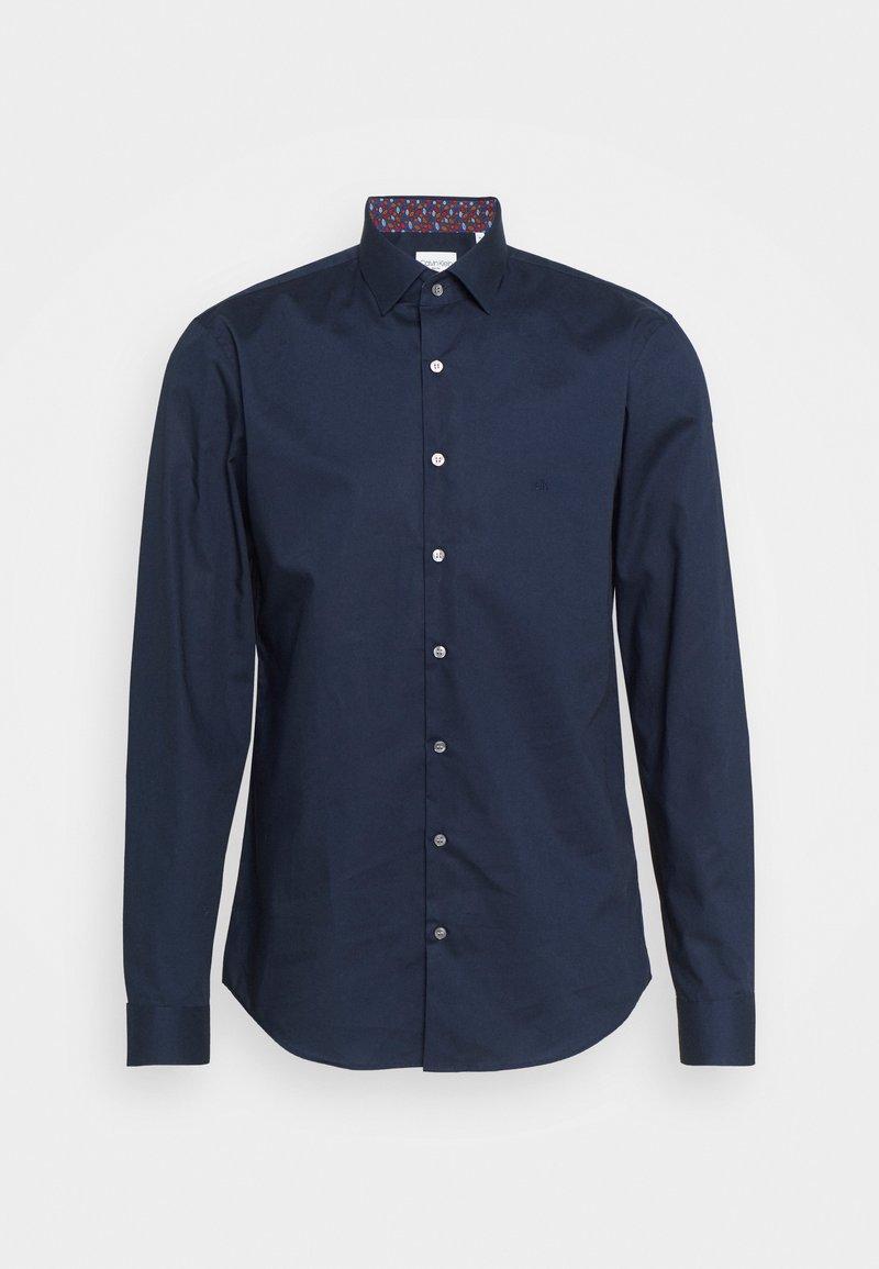 Calvin Klein Tailored - POPLIN CONTRAST SLIM - Formal shirt - navy