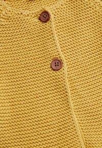 Next - PINK FRILL HEM - Cardigan - yellow - 2