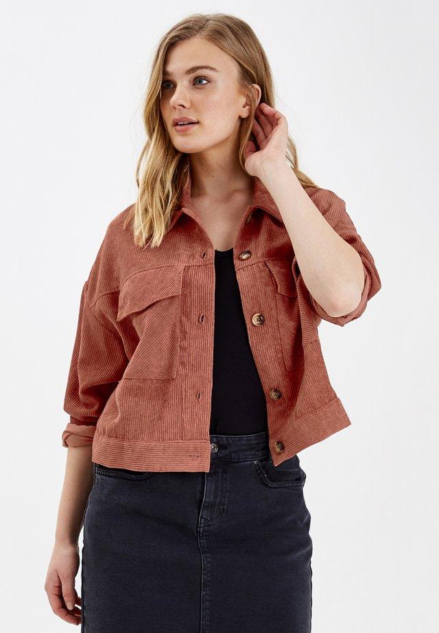 BYDARIAM - Summer jacket - canyon rose