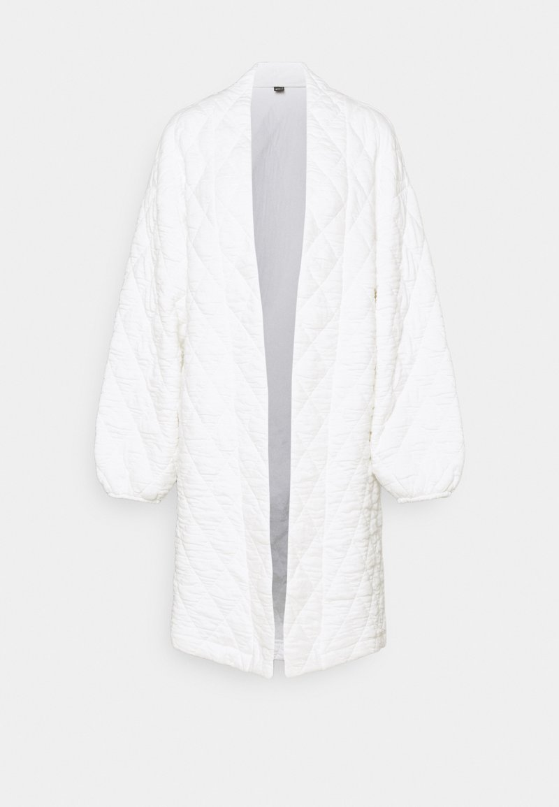 Gina Tricot - LUNA QUILT JACKET - Classic coat - offwhite