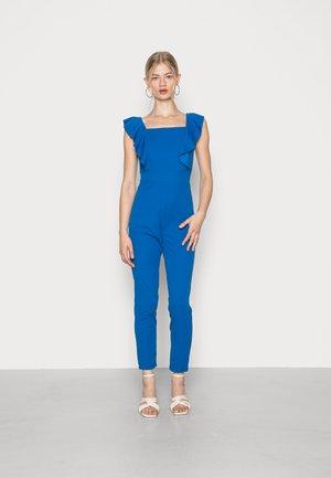DIPA FRILL DETAIL - Jumpsuit - royal blue