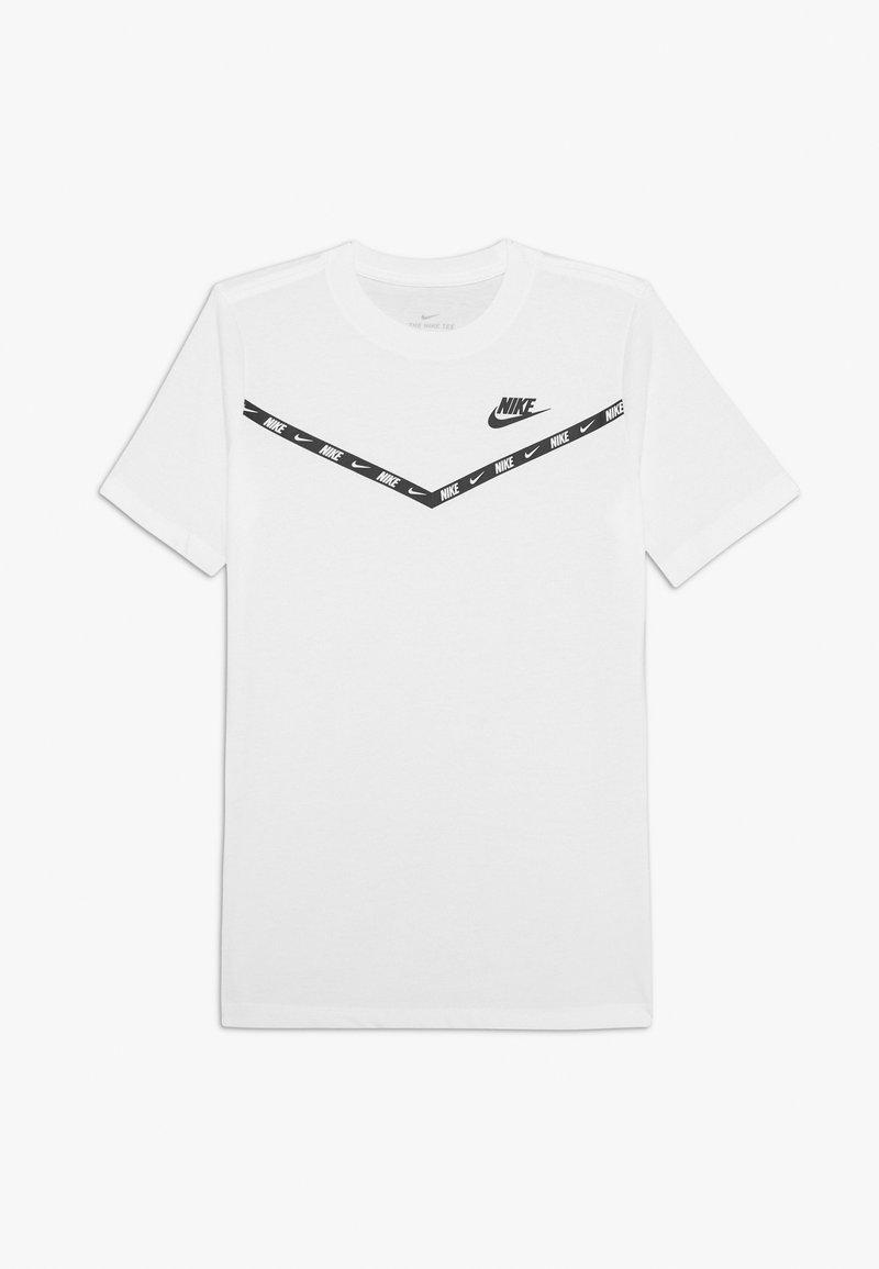 Nike Sportswear - CHEVRON - Print T-shirt - white