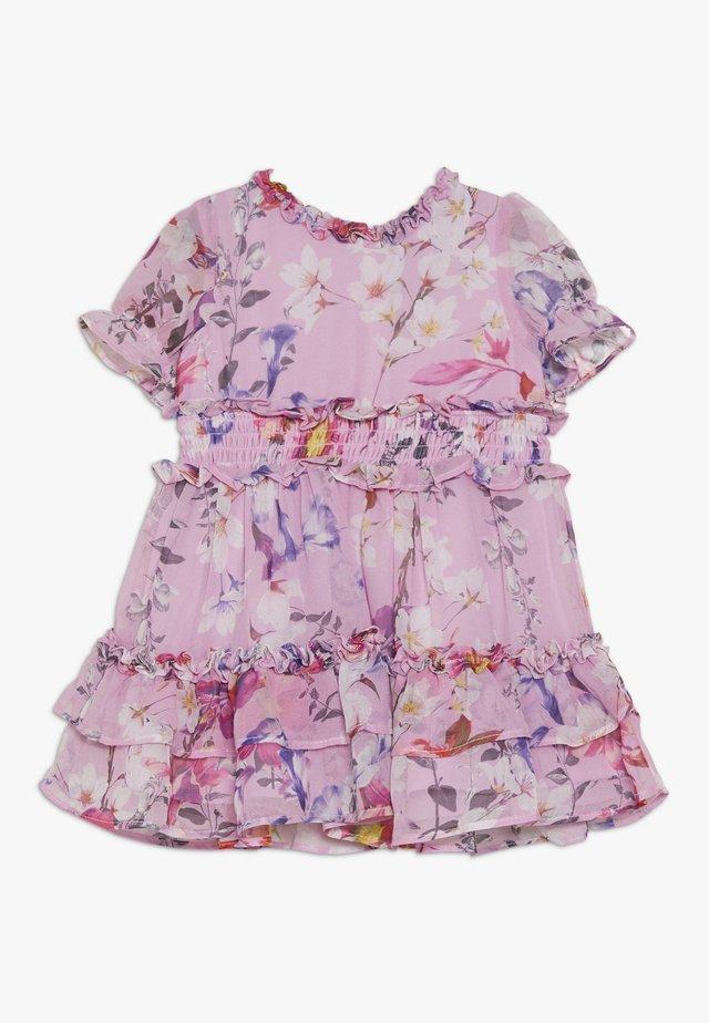 LOU RUFFLE DRESS - Vestido de cóctel - multicolor