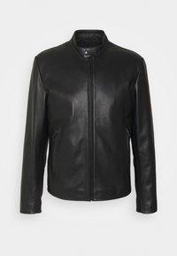 sandro - ANTHONY - Leather jacket - noir - 3