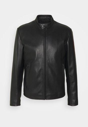 ANTHONY - Leather jacket - noir