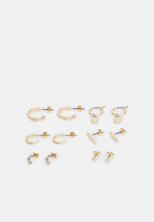 EARRINGS 6 PACK - Øreringe - gold-coloured
