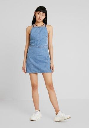 IRENE DRESS - Denim dress - ravish blue