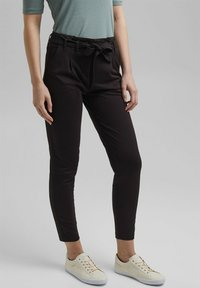 edc by Esprit - Trousers - black - 0