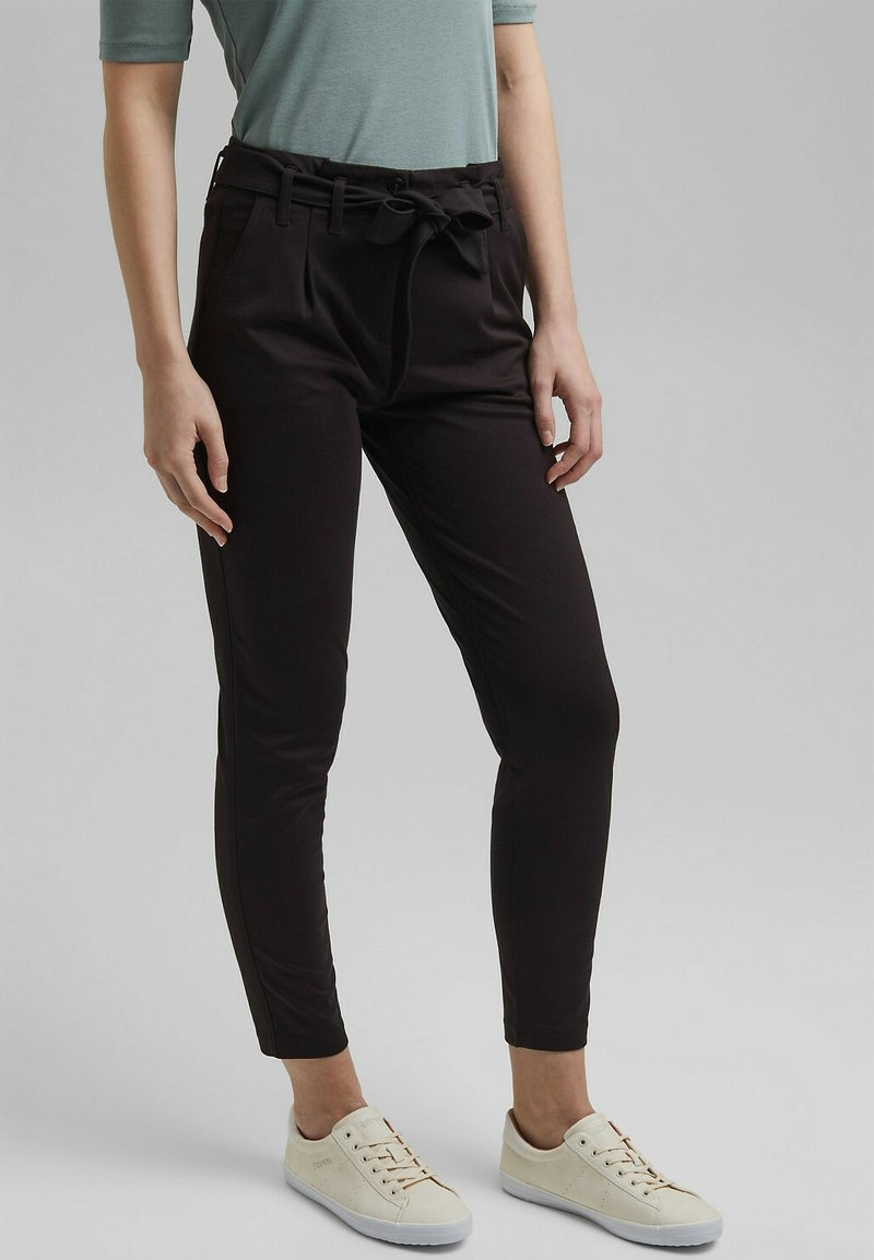 edc by Esprit - Trousers - black