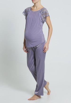 Pyžamový top - lilac