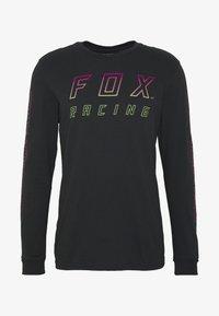 Fox Racing - NEON MOTH TEE - Langarmshirt - black - 4