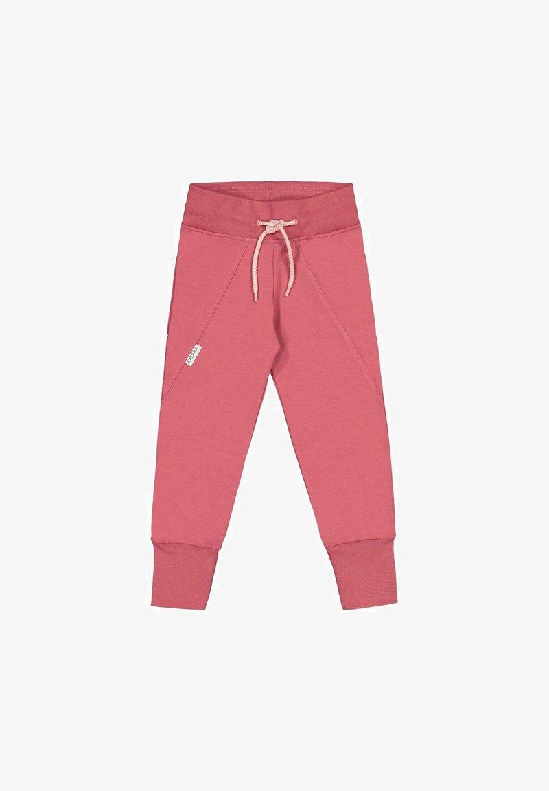 GUGGUU - Tracksuit bottoms - mottled pink