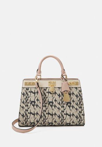 DREIDDA - Handbag - blush/bone/gold-coloured