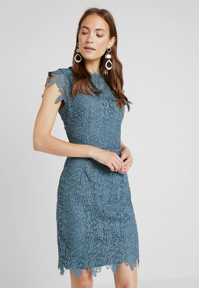 Cocktail dress / Party dress - dove blue