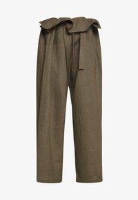 esmé studios - SUSAN FISHERMAN PANTS - Trousers - dusky green - 3