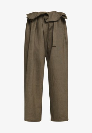 SUSAN FISHERMAN PANTS - Trousers - dusky green