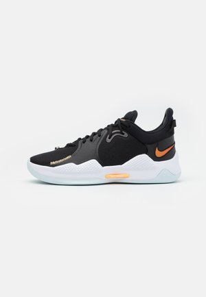 PG 5 - Zapatillas de baloncesto - black/multicolor/white/barely green