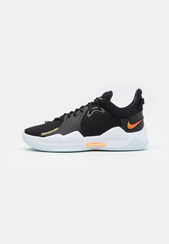 PG 5 - Basketball shoes - black/multicolor/white/barely green