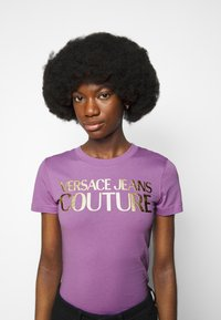 Versace Jeans Couture - Print T-shirt - fiorentina - 4