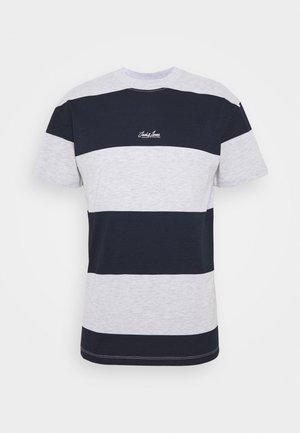 JORSCAPET TEE CREW NECK - T-shirt imprimé - navy blazer