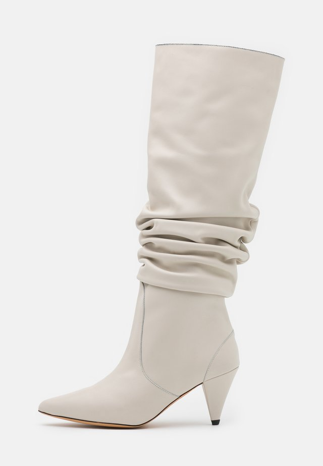 Stiefel - offwhite