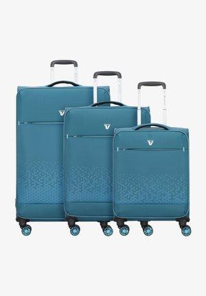 CROSSLITE  - Luggage set - petrolio